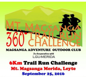 Mt. Magsanga 360 Trail Run Challenge 2016