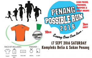 Penang Possible Run 2016