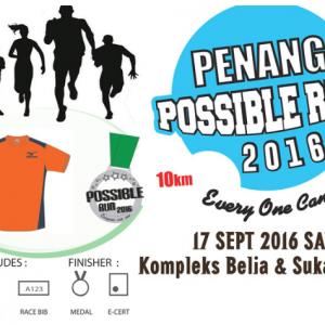 Penang Possible Run 2016