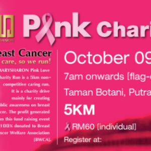 Marysharon Pink Charity Run 2016