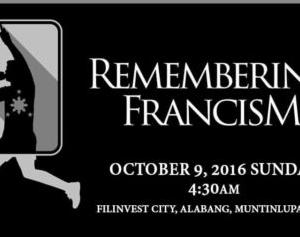 Remembering FrancisM Run 2016