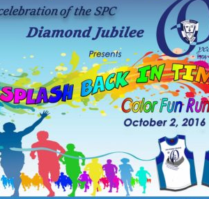 A Splash Back in Time: A Color Run 2016