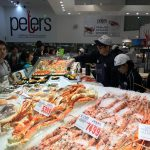 Fresh seafood at Sydney Fish Market