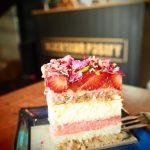 Strawberry watermelon cake at Blackstar Pastry