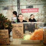 Billy Kwong's dumplings at Carraigeworks Farmer Market