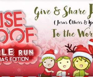 Bubble Run Christmas Edition 2016