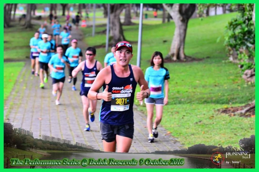 Photo by Running Shots. My only memoir of the race.