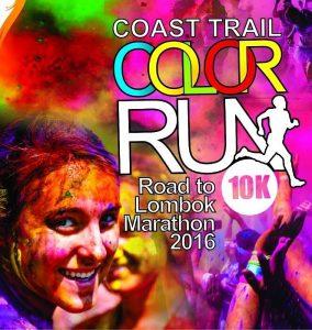 Gili Coast Trail Color Run 10K 2016