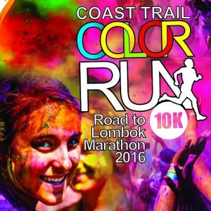 Gili Coast Trail Color Run 10K 2016