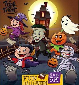 Halloween Fun Run Surabaya 2016