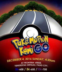 Pake Mo Run Kami GO 2016