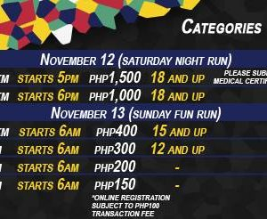 Subic International Marathon 2016 (10 km, 7 km, 5 km and 3 km)
