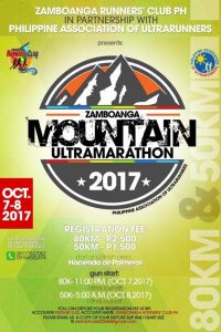 Zamboanga Mountain Ultramarathon 2017 (50 KM)