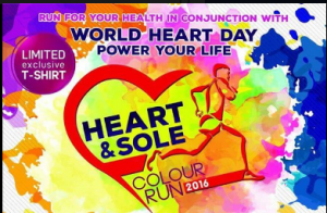 Heart and Sole Color Run 2016