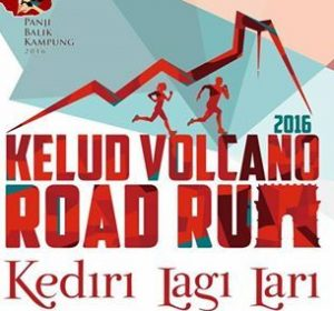 Kelud Volcano Road Run 2016