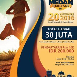 Medan Heritage 10K 2016