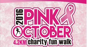 Pink October Charity Fun Walk 2016