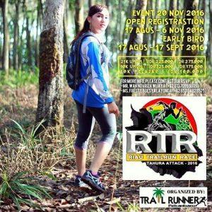 Riau Trail Run Race 2016