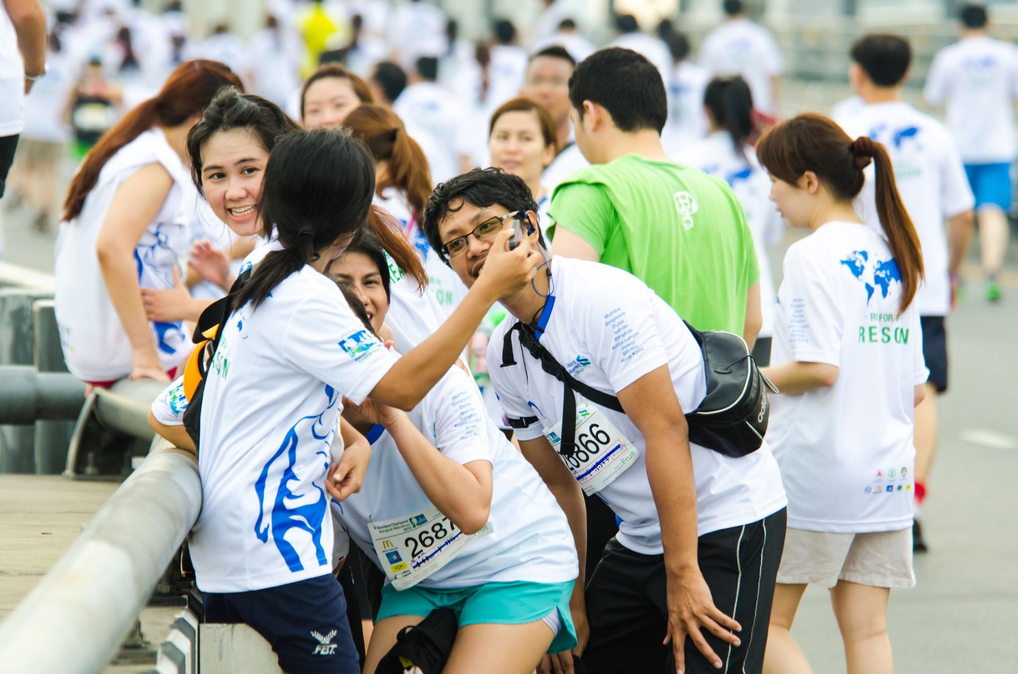 selfie-at-marathon-race