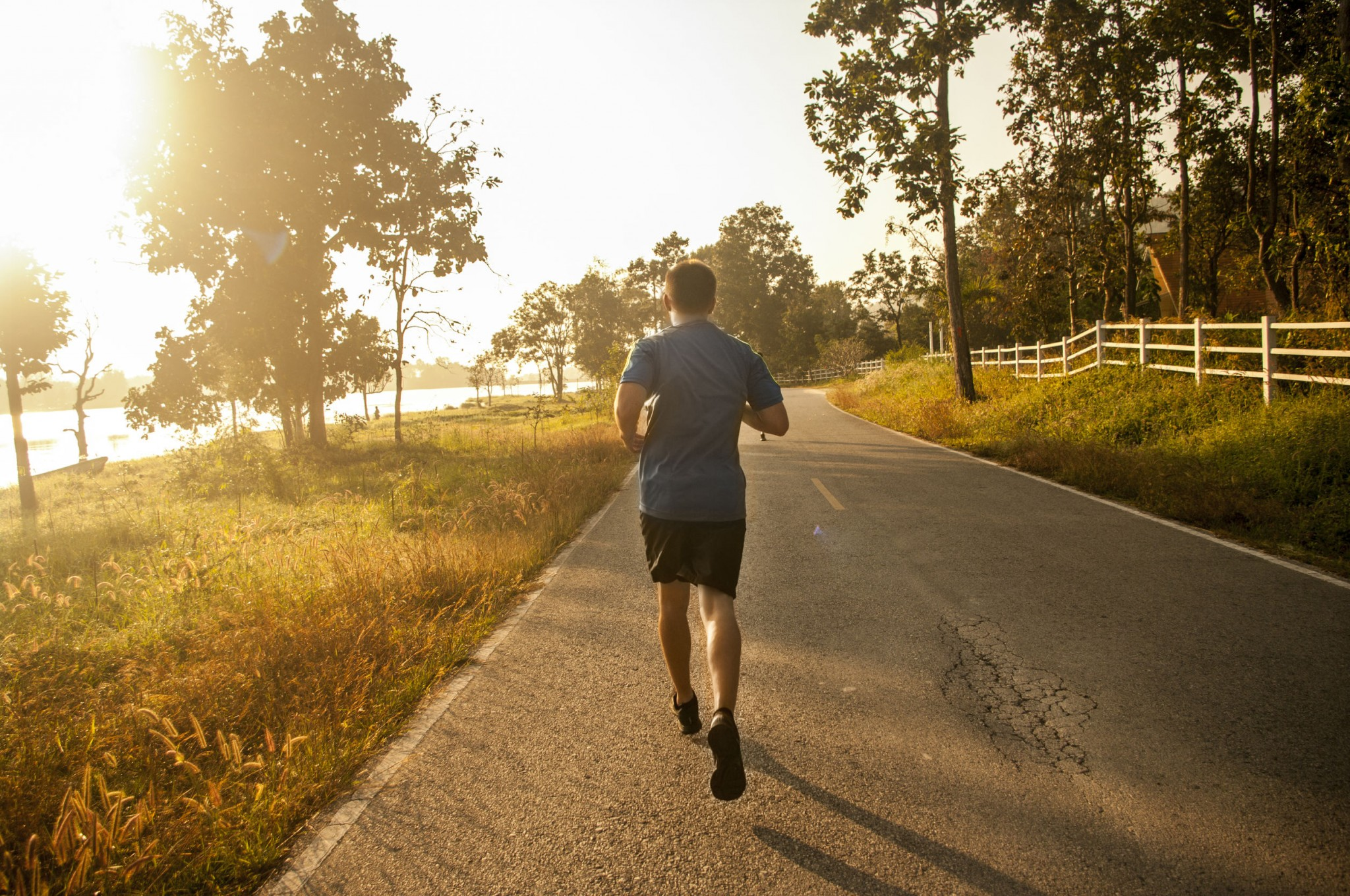 how to go on morning runs