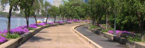 Benjakiti Park  Just Run Lah!