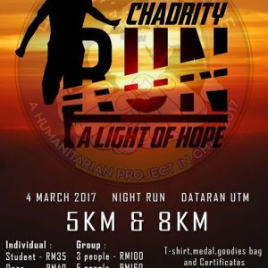 Chadrity Run 2017: A Light of Hope