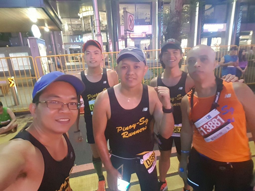 Before the run photo. Photo credit: Pinoy-Sg Runners