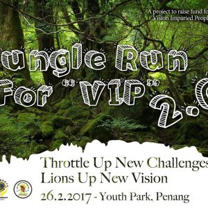 Jungle Run For V.I.P. (Vision Impaired People) 2.0 2017