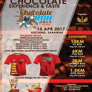 Kuching Chocolate Run 2017