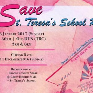 Save St Teresa Run 2017