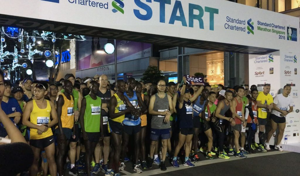 ... and Videos: Standard Chartered Marathon Singapore 2016 | Just Run Lah