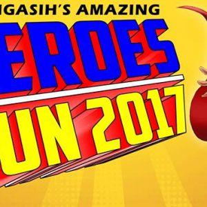 Seri Mengasih Heroes Run 2017