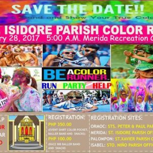St. Isidore Parish Color Run 2017