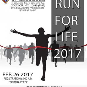 Run For Life (Manila) 2017