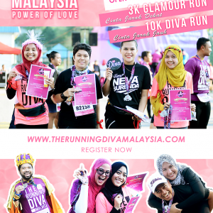 TRDM The Running Diva Malaysia | Power of Love 2017