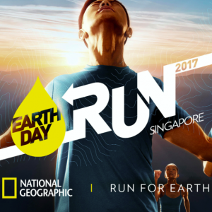 The National Geographic Earth Day Run 2017 Singapore