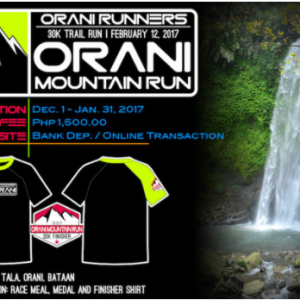 Orani Mountain Run 2017 30K (Bataan)