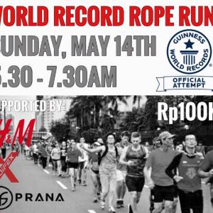 Guinness World Record Rope Run 2017