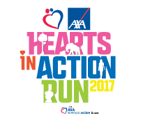 AXA Hearts In Action Run 2017