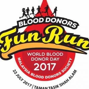 Blood Donors Fun Run 2017