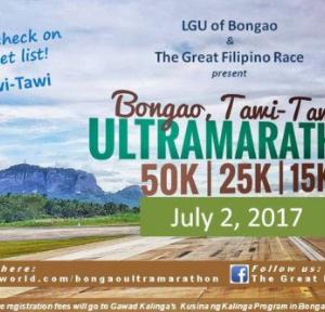 Bongao Tawi-Tawi Ultramarathon 2017