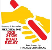 Merdeka 21KM Road Relay Run 2017