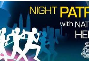 Night Patrol With National Hero 2017