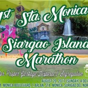 1st Santa Monica Siargao Island Marathon 2017