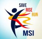 Save Rise Run MSI 2017