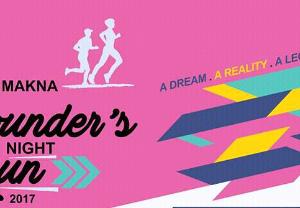 MAKNA Founder's Night Run 2017