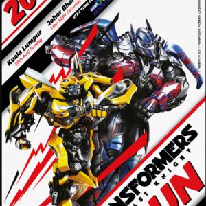Transformers The Last Knight Run 2017 (Kuala Lumpur)