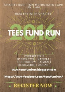 Tees Fund Run 2016