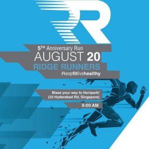 Ridge Runners 5th Anniversary Run 2017
