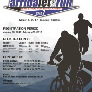 ARRIBA Let's Run: Bike and Run for Scholarship 2017